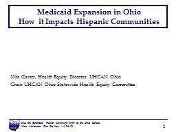 Medicaid Expansion in Ohio