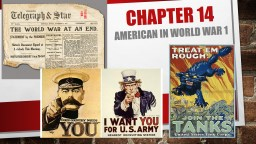 Chapter 14 American in World war 1