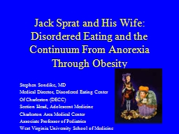Jack Sprat and His Wife:
