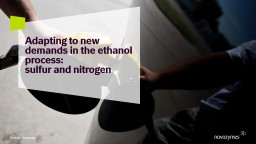 Adapting to new demands in the ethanol process: