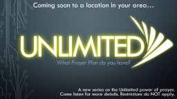 unlimited What Prayer Plan do you have?