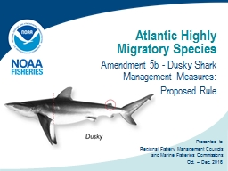 Atlantic Highly Migratory Species