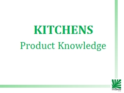 KITCHENS Product Knowledge PowerPoint Presentation, PPT - DocSlides