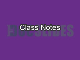 Class Notes  #7:  Genetic Disorders PowerPoint PPT Presentation
