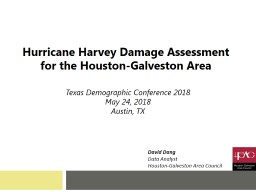 Texas Demographic Conference 2018