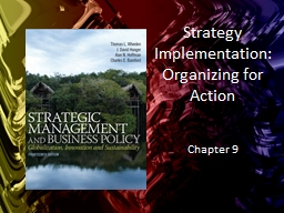 Strategy Implementation :