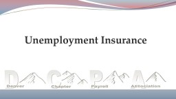 Unemployment Insurance Federal Unemployment Tax Act
