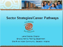 Sector Strategies/Career Pathways