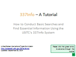 337Info  – A Tutorial How to Conduct Basic Searches and Find Essential Information