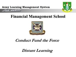 Conduct Fund the Force  Distant Learning
