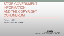 State Government Information PowerPoint Presentation, PPT - DocSlides