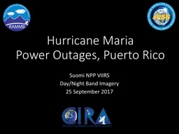 Hurricane Maria Power Outages, Puerto Rico PowerPoint Presentation, PPT - DocSlides