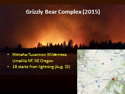 Grizzly Bear Complex (2015)