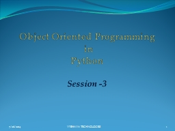 Object Oriented Programming PowerPoint Presentation, PPT - DocSlides