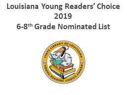 Louisiana Young Readers' Choice 2018-2019
