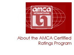 About the AMCA Certified Ratings Program