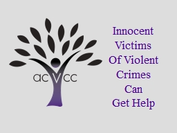 Innocent Victims Of Violent