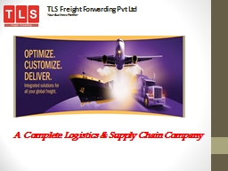 TLS Freight Forwarding Pvt Ltd