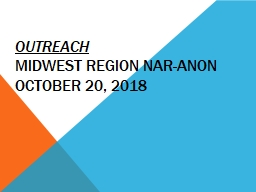 Outreach Midwest Region Nar-Anon