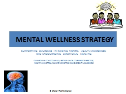 MENTAL   WELLNESS STRATEGY