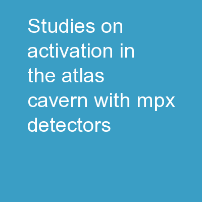 Studies on Activation in the ATLAS cavern with MPX Detectors