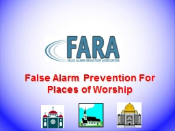False Alarm Prevention For