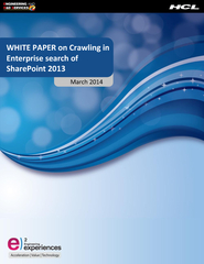 WHIT E PAPER on Crawling in Enterprise search of Share