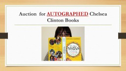 Auction  for  AUTOGRAPHED