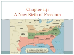 Chapter  14: A New Birth of Freedom