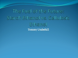 The Fuel of the Future: