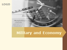 Military and Economy Introduction