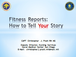 Fitness Reports: How to Tell