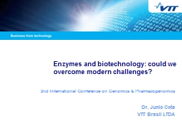 Enzymes and biotechnology: could we overcome modern challenges?