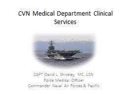 CVN  Medical Department Clinical