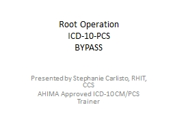 Root Operation ICD-10-PCS