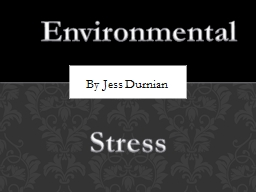 By Jess Durnian Environmental