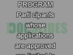 COMMU NITY AFFAIRS BUREAU RIDE ALONG PROGRAM Parti cipants whose applications are approved are limited to one  ride along per year