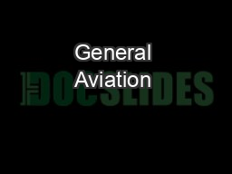 General Aviation & Weather:           US Support for China Development