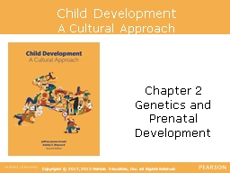 Child Development A Cultural Approach
