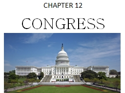 CHAPTER 12 CONGRESS 112 th
