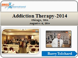Barry Tolchard Addiction Therapy-2014