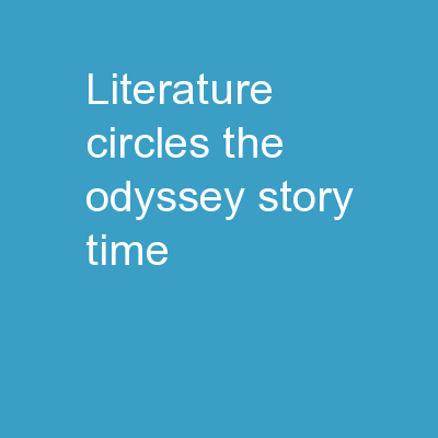Literature Circles: The Odyssey Story Time