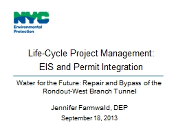 Life-Cycle Project Management: