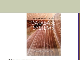 CHAPTER 17 Indexing Structures for Files and Physical Database Design