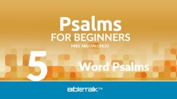 Word Psalms 5 Psalm Categories