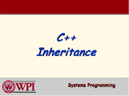 C   Inheritance Systems Programming