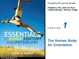1 The Human Body: An Orientation