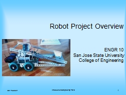 Robot Project Overview