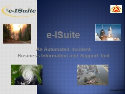 e-ISuite An Automated Incident