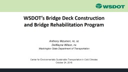 WSDOT's Bridge Deck Construction